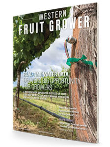 Western Fruit Grower July 2019 Cover